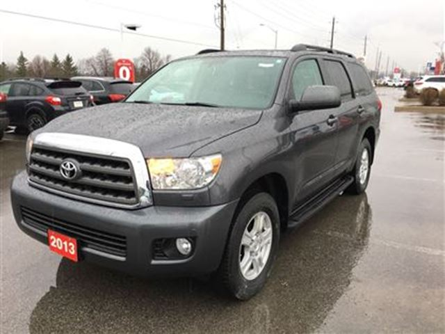 2013 Toyota Sequoia SR5 Edition! Clean Carproof, Toyota Certified! in Stouffville, Ontario