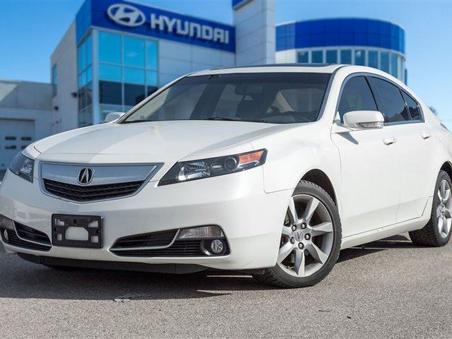 2012 Acura TL Base w/Technology Package (A6) in Mississauga, Ontario