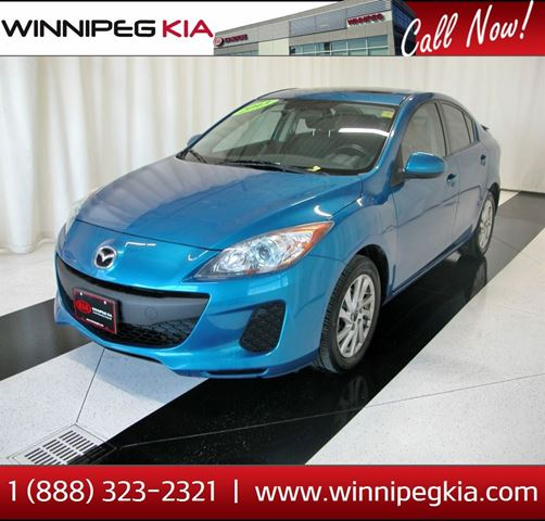 2013 MAZDA MAZDA3 GS-SKY in Winnipeg, Manitoba