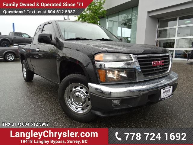 2011 GMC CANYON SLE ACCIDENT FREE w/ 5-SPEED MANUAL, BLUETOOTH & A/C in Surrey, British Columbia
