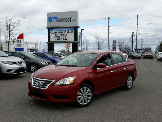 2014 Nissan Sentra ONLY $19 DOWN $53/WKLY!! in Ottawa, Ontario