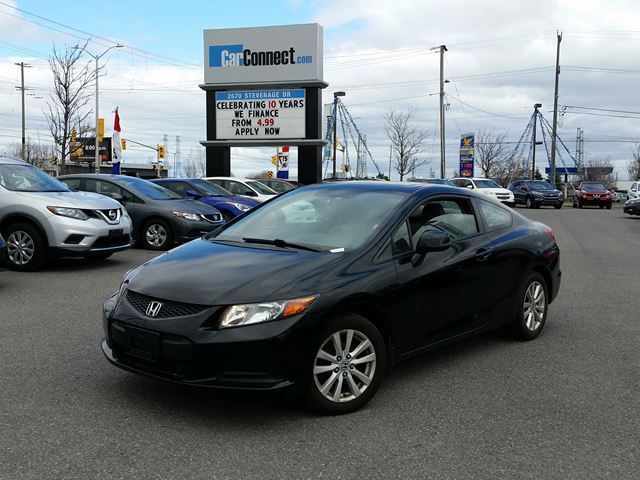 2012 Honda Civic EX-L ONLY $19 DOWN $63/WKLY!! in Ottawa, Ontario