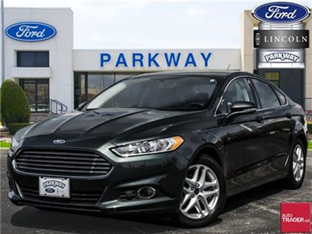 2016 Ford Fusion SE FWD  LEATHER  BLUETOOTH  HEATED SEATS in Waterloo, Ontario