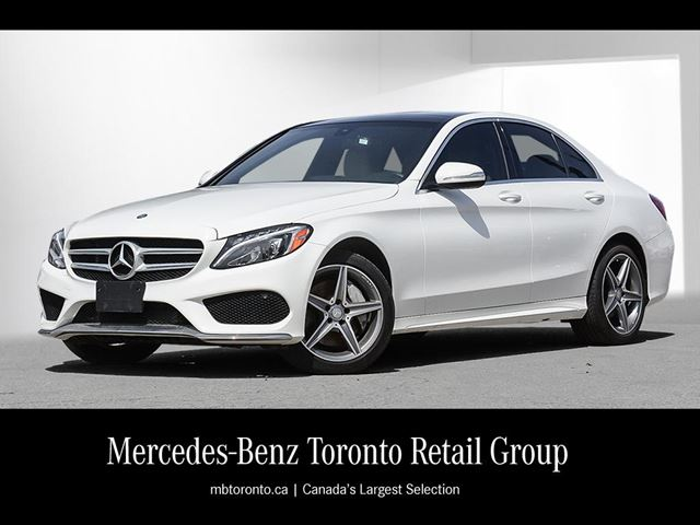2015 Mercedes-Benz C-Class C300 4MATIC Sedan in Maple, Ontario