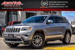 2016 Jeep Grand Cherokee Limited 4X4 TrailerTowPkg. Nav. RearCam. HTDSeats 18Alloys in Thornhill, Ontario