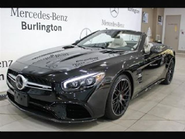 2017 Mercedes-Benz SL-Class 63 AMG Roadster in Mississauga, Ontario