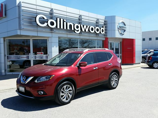 2015 Nissan Rogue SL AWD PREMIUM *1 OWNER* in Collingwood, Ontario