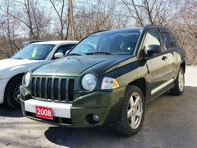 2008 Jeep Compass Limited,,cert&etested in Oshawa, Ontario