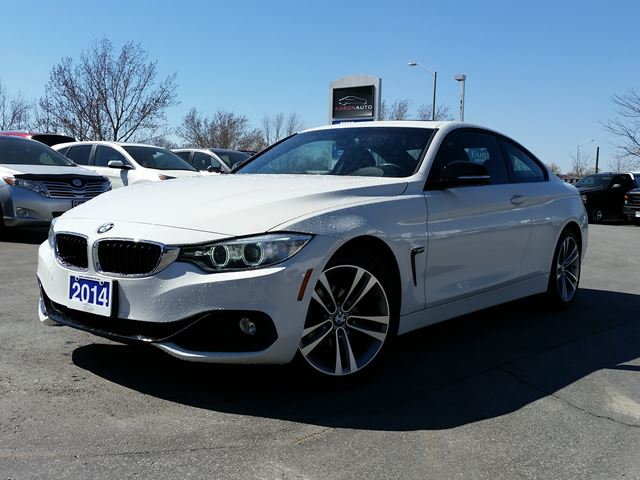 2014 BMW 4 SERIES 428i xDrive-SPORT COUPE-AWD-NAVIGATION in Belleville, Ontario