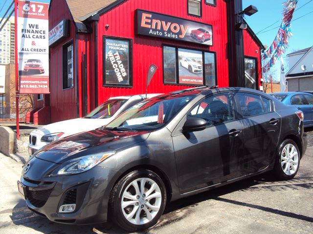 2010 MAZDA MAZDA3 GT TECH PAKG!!NAVIGATION!!LEATHER!!BLUETOOTH!! in Ottawa, Ontario