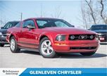 2009 Ford Mustang V6   LEATHER HEATED SEATS   SHAKER SOUND SYSTEM in Oakville, Ontario