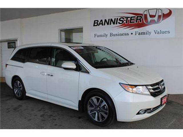 2016 Honda Odyssey Touring in Vernon, British Columbia