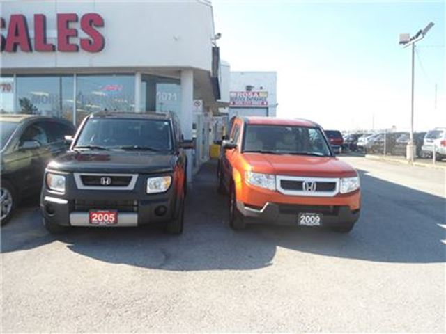 2005 Honda Element 5dr 4WD Auto NEW TIRES SUNROOF NO ACCIDENT SAFETY in Oakville, Ontario