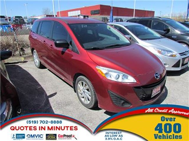2014 MAZDA MAZDA5 GS   MUST SEE   ALL CREDIT APPROVED in London, Ontario