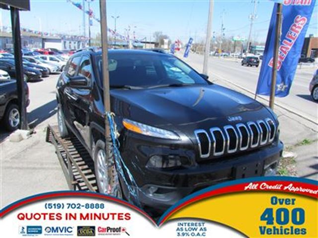 2015 JEEP CHEROKEE NORTH   AWD   BLUETOOTH   MUST SEE in London, Ontario