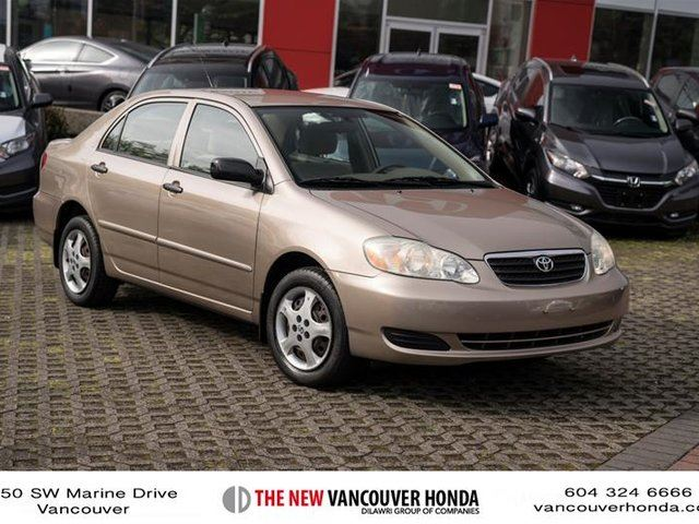 2006 TOYOTA COROLLA 4-door Sedan CE 4A in Vancouver, British Columbia