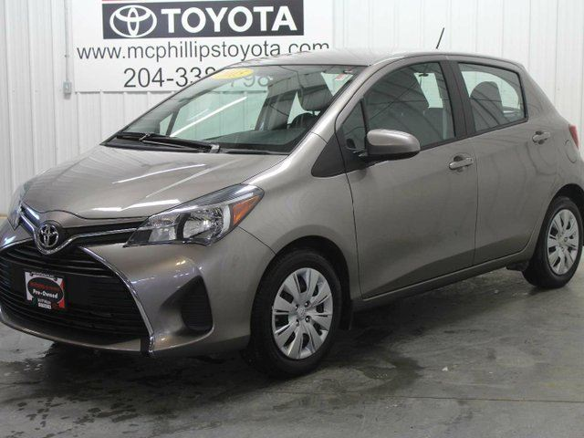 2015 TOYOTA YARIS LE 5dr Hatchback in Winnipeg, Manitoba