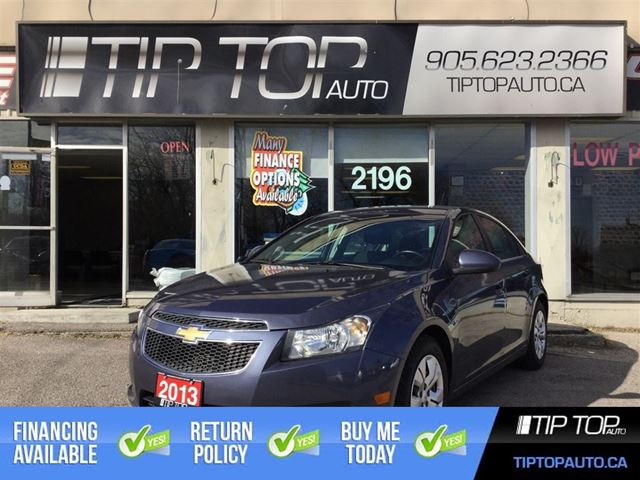 2013 CHEVROLET Cruze LT Turbo ** Bluetooth, Low Kms, Well Equipped ** in Bowmanville, Ontario