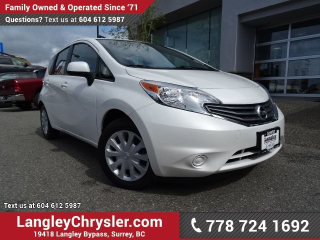2014 NISSAN VERSA 1.6 S W/ POWER WINDOWS/LOCKS & REAR-VIEW CAMERA in Surrey, British Columbia