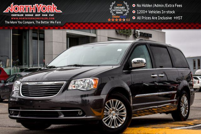 2016 Chrysler Town and Country Touring Nav PwrDoors BackupCam. Bluetooth 17Alloys in Thornhill, Ontario