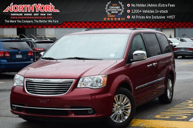 2016 Chrysler Town and Country  7Seat Premium SafetyTec,TrailerTow,DriverConv.Pkgs Nav in Thornhill, Ontario