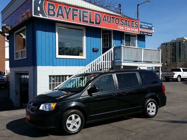 2011 Dodge Grand Caravan SXT **DVD/Reverse Cam/Bluetooth/Alloys** in Barrie, Ontario