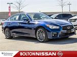 2016 Infiniti Q50 Red Sport 400 WD TECH /Twin Turbo in Bolton, Ontario