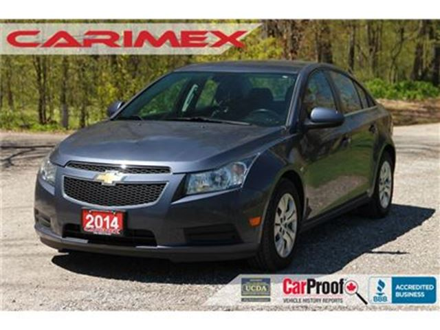 2014 CHEVROLET CRUZE 1LT   ONLY 46K + CERTIFIED + E-Tested in Kitchener, Ontario