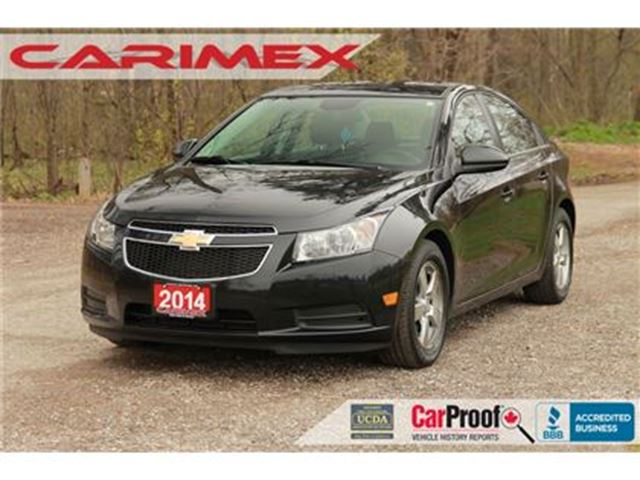 2014 CHEVROLET CRUZE 2LT Leather + Bluetooth + Certified + E-Tested in Kitchener, Ontario