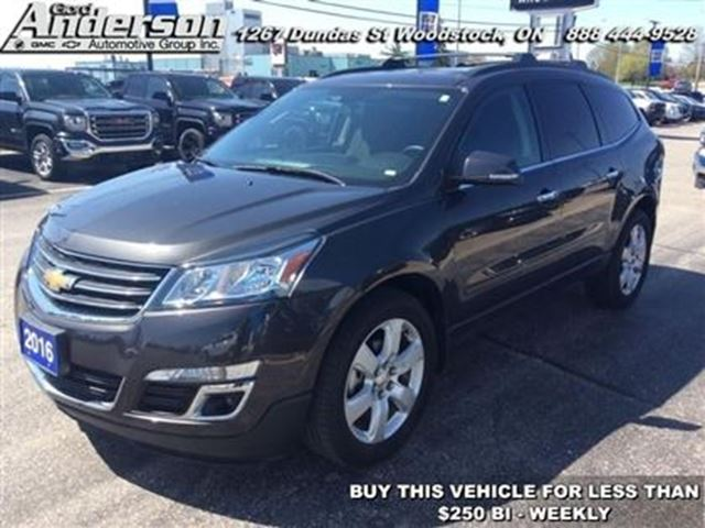 2016 Chevrolet Traverse LT w/1LT in Woodstock, Ontario