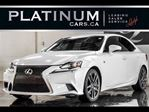 2014 Lexus IS 350, AWD, F-SPORT, NAVI, CAM, SUNROOF, $262/Bi-Wk in North York, Ontario