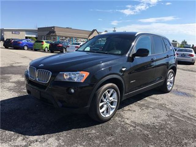 2013 BMW X3 28i/CARPROOF CLEAN/BLUETOOTH/HEATED SEATS/AWD in Fonthill, Ontario