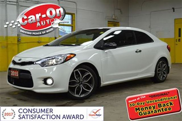 2015 Kia Forte Koup SX KOUP TURBO LEATHER in Ottawa, Ontario