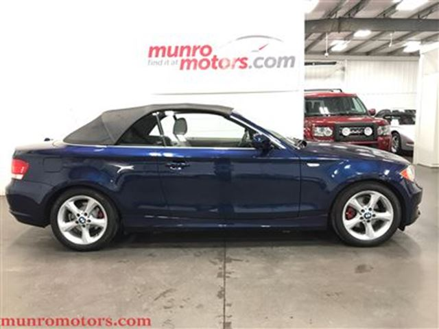 2011 BMW 1 Series i Convertible Automatic One Owner Low Kms in St George Brant, Ontario