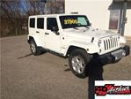2014 Jeep Wrangler Unlimited Sahara in Arthur, Ontario