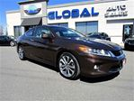 2013 Honda Accord EX-L V6 Coupe MANUAL NAVIGATION LEATHER in Ottawa, Ontario