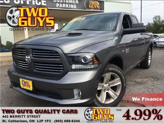 2013 Dodge RAM 1500 SPORT 4X4 AIR RIDE SUPENSION NAVIGATION in St Catharines, Ontario