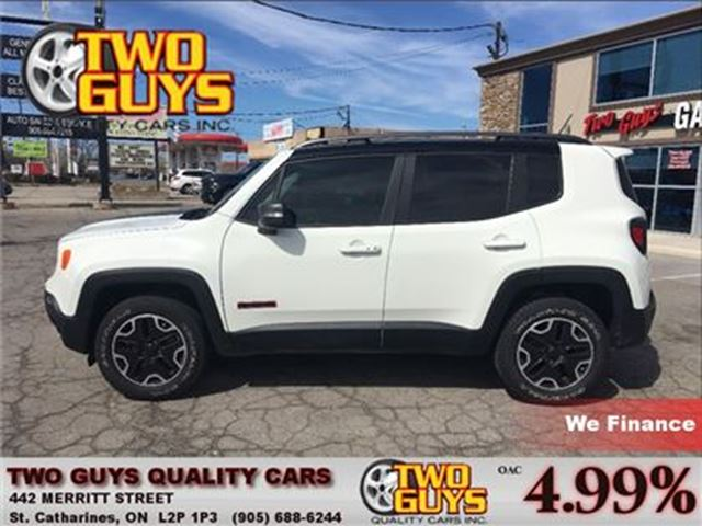 2015 JEEP RENEGADE TRAILHAWK NAVIGATION 4WD in St Catharines, Ontario