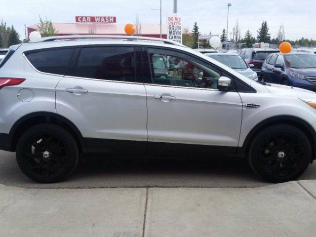 2013 ford escape titanium red deer alberta car for sale 2757032. Black Bedroom Furniture Sets. Home Design Ideas