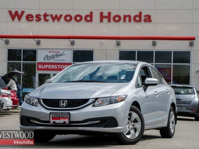 Used 2014 honda civic lx factory warranty until 2021 for Honda factory warranty