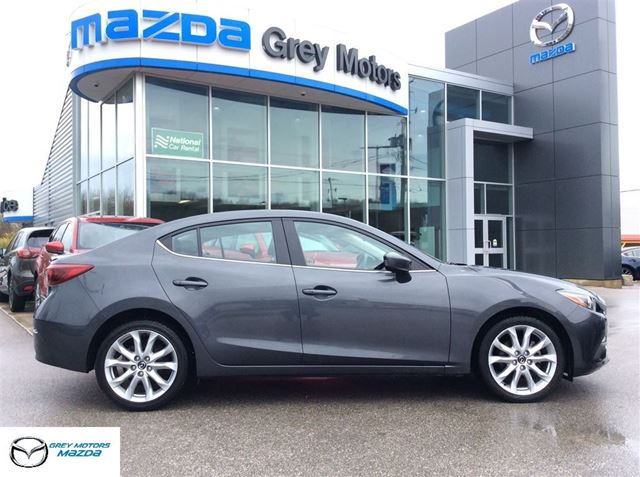 2014 Mazda MAZDA3 GT-SKY, Auto, Heated Leather, Sunroof, One Owner in Owen Sound, Ontario