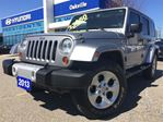 2013 Jeep Wrangler Unlimited SAHARA  NAVI  LEATHER  2 TOP  ONE OWNER in Oakville, Ontario