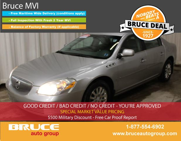 2008 BUICK LUCERNE CX 3.8L 6 CYL AUTOMATIC FWD 4D SEDAN in Middleton, Nova Scotia