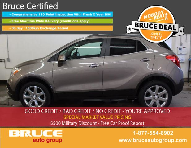 2014 BUICK ENCORE CXL 1.4L 4 CYL TURBOCHARGED AUTOMATIC AWD in Middleton, Nova Scotia