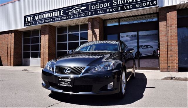2010 LEXUS IS 250 NO ACCIDENT AWD NAVI BACK-UP CAMERA ULTRA PREMI in Mississauga, Ontario