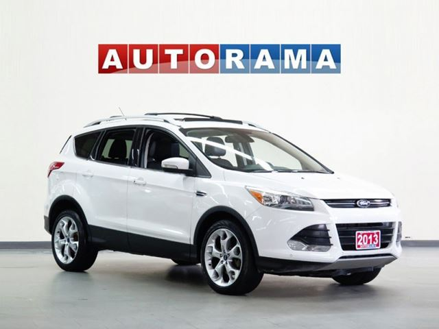 2013 FORD ESCAPE TITANIUM LEATHER 4WD in North York, Ontario