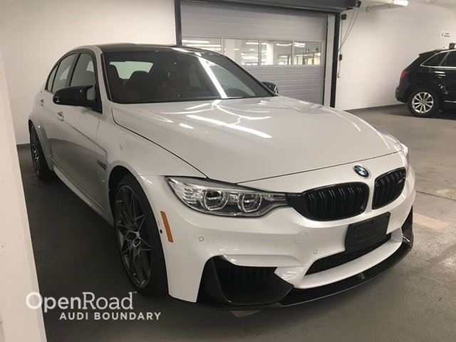 2017 BMW M3 4Dr Sdn FULLY LOADED  LIKE NEW in Vancouver, British Columbia