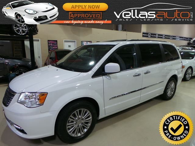 2016 Chrysler Town and Country Touring-L TOURING| LEATHER| NAVI| SUNROOF| DVD in Vaughan, Ontario
