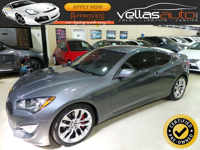2016 Hyundai Genesis 3.8 R-Spec 3.8 R-SPEC| 6SPD| LEATHER| BREMBO in Vaughan, Ontario