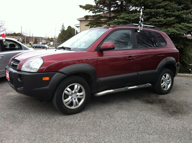 2007 hyundai tucson gl w viva pkg auto loaded finance for Hyundai motor finance payoff